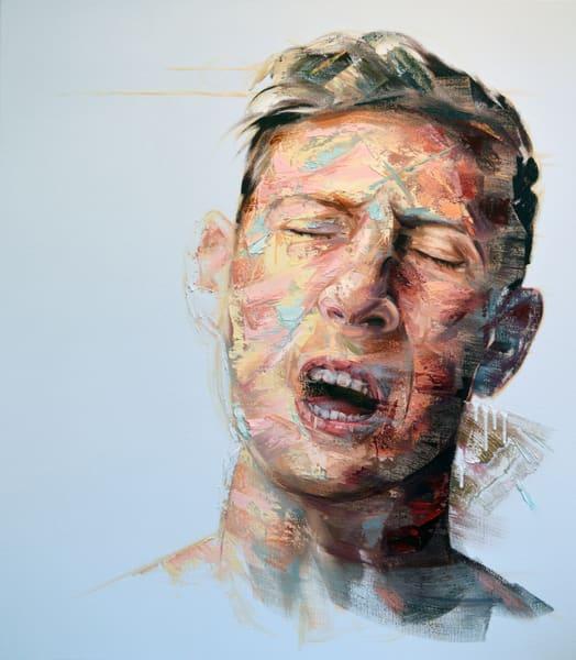 Tête D'homme Art   Mathieu Laca