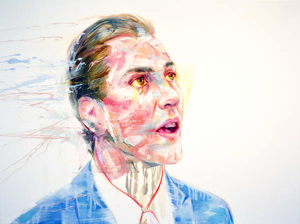 Study For A Portrait Of Xavier Dolan Art   Mathieu Laca