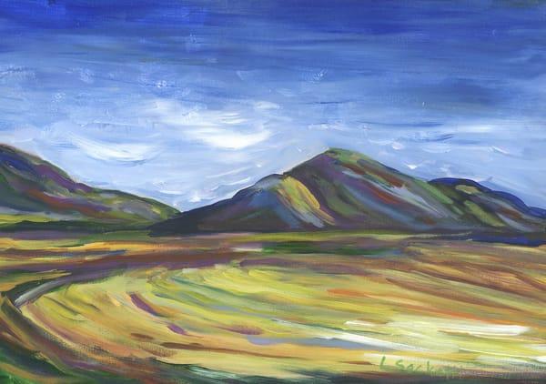 Wheat Fields Along The Garden Route Art | Linda Sacketti