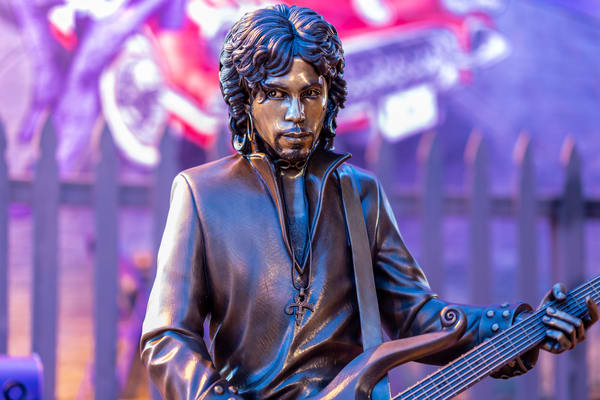 Prince Statue In Henderson Photography Art | William Drew Photography