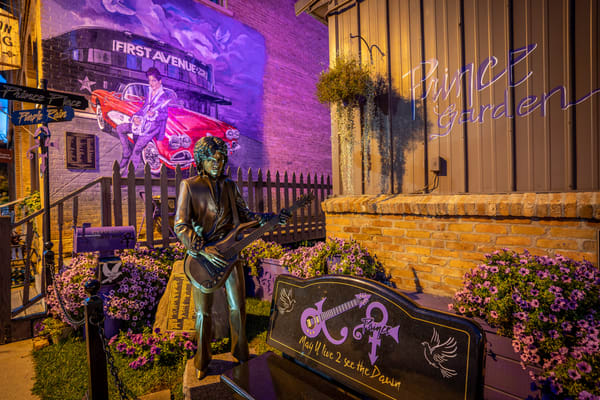 Prince Mural And Statue In Henderson Mn Photography Art | William Drew Photography