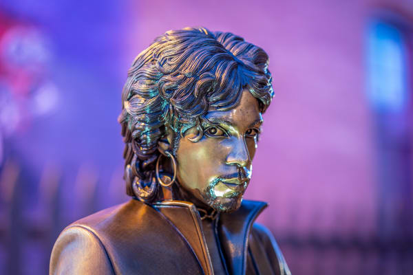 Prince Statue Looking At You Photography Art | William Drew Photography