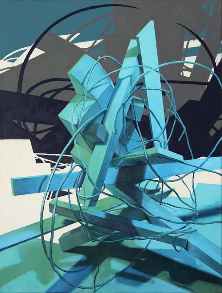 Unititled Construct 2 Art | Romanova Art