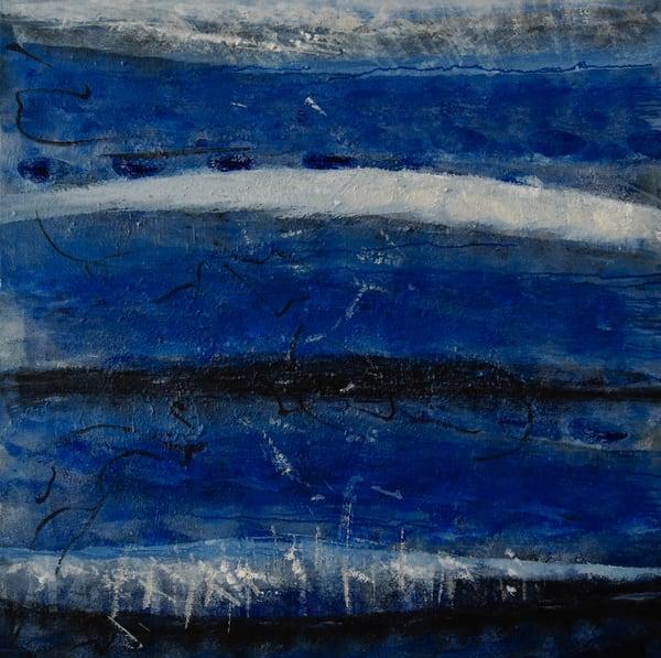 Blue Tides 4/5 Art | Art Space 349