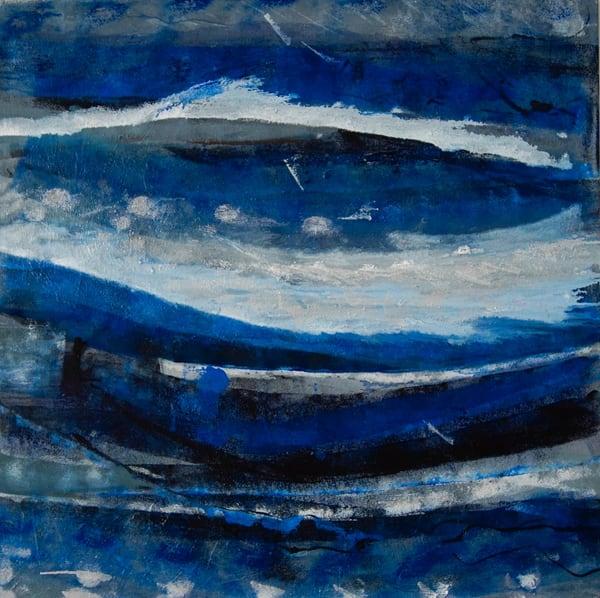Blue Waves  3740 Art | Art Space 349