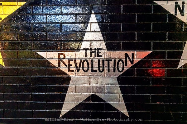 The Revolution Star   Prince Wall Murals Photography Art | William Drew Photography