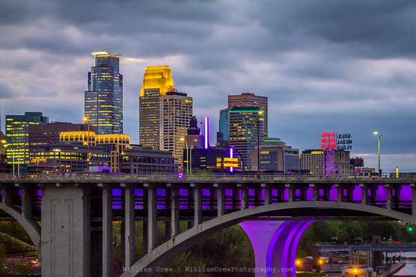 Minneapolis Prince   Prince Wall Murals Photography Art | William Drew Photography