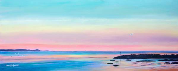 Llanelli Sunset Original Painting