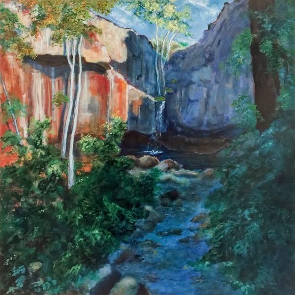 Mc Cloud Canyon Waterfall Art   Patrick Cosgrove Art and Photography