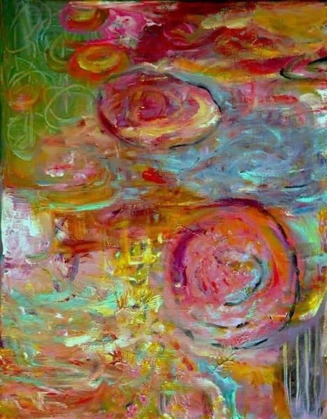 Pink Monett Art | Annie Lockhart