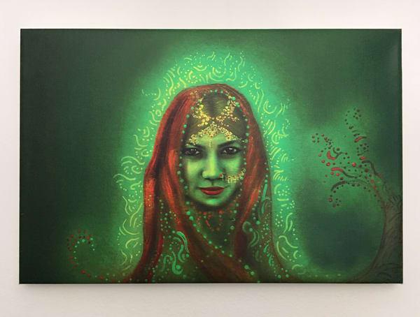 Green India  Art | Angelica Hoyos Studio