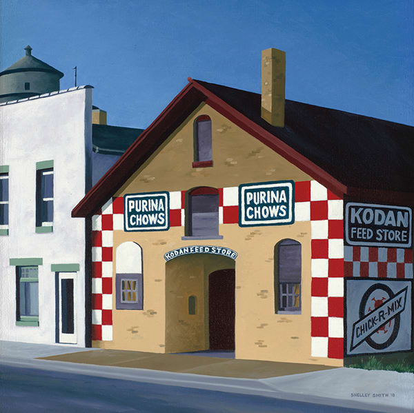 Purina Feed Store | Algoma, WI | Fine Art Paintings & Prints for Sale