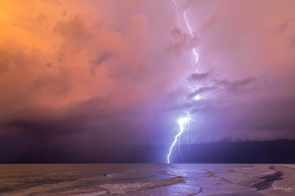 Siesta Key Shelf Cloud and Lightning