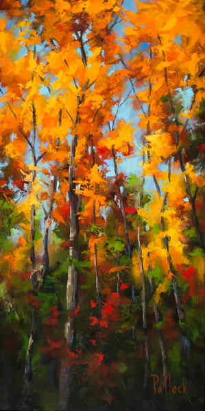 Elevate original oil on panel | Sarah Pollock Studio