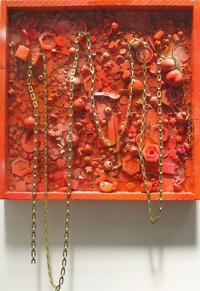Golden Handcuffs Art | Makiko Harris Art