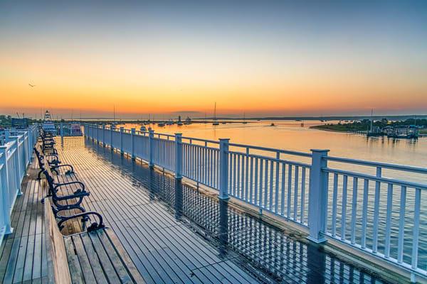 Memorial Wharf Summer 2020 Art | Michael Blanchard Inspirational Photography - Crossroads Gallery
