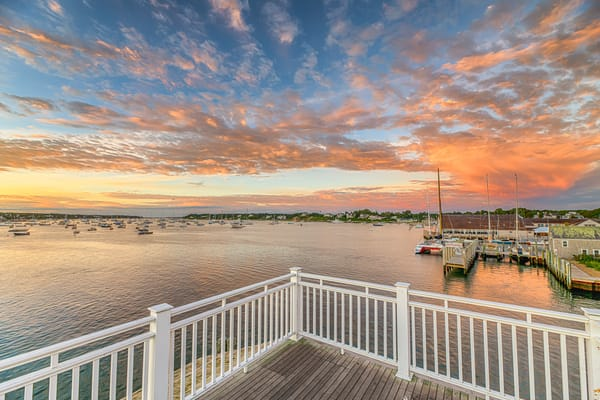 Memorial Wharf Late Summer Gratitude Art | Michael Blanchard Inspirational Photography - Crossroads Gallery