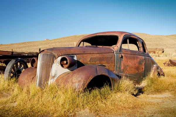 Rusty Old Coupe 1 print | Jim Parkin Fine Art Photography