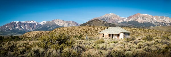 """Old House in the Sierra's"" print   Jim Parkin Fine Art Photography"