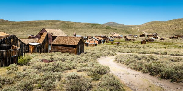 """Ghost Town, Bodie"" print 