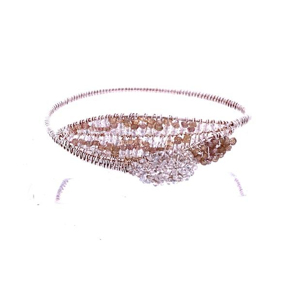 Sapphire and Aquamarine Bracelet