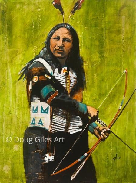 Sioux Warrior Art | Doug Giles Art, LLC