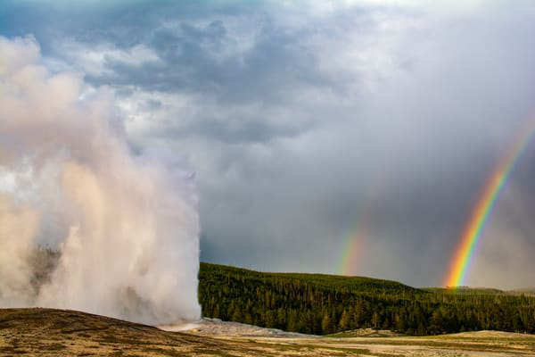 Rainbow Geyser Photography Art | Call of the Mountains Photography