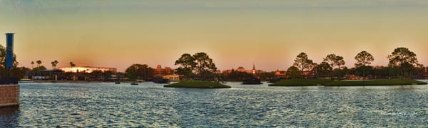 If You Have Ever Been to Disney World, You Will Recognize This Panoramic Scene of Bay Lake