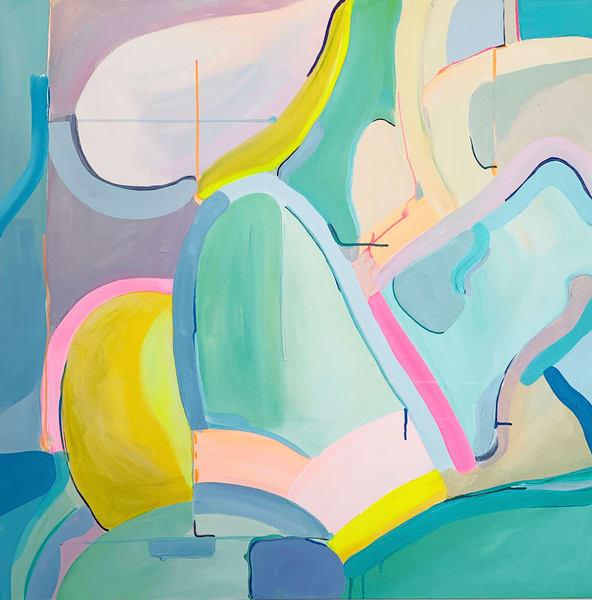 Desert 1984 Art | Caroline Geys Design Studio