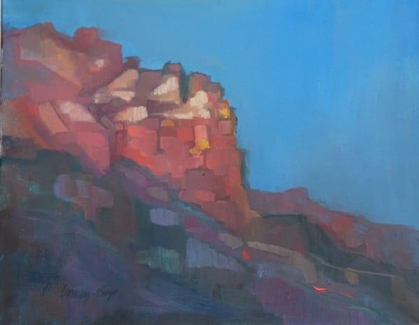 Sunset In Sedona Art | Peg Connery-Boyd Artwork