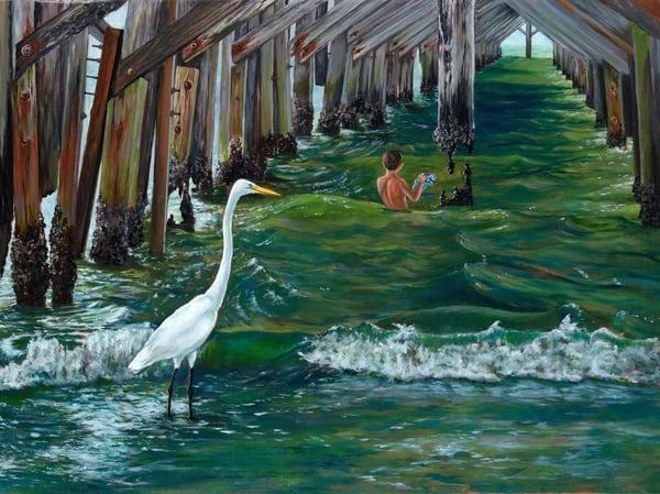 Under The Pier 2 Art | Roxana Sinex Art