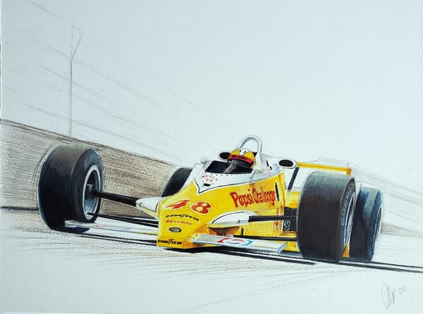 Mike Mosley - Indianapolis 1981