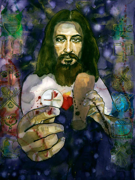 Last Supper Art | William K. Stidham - heART Art