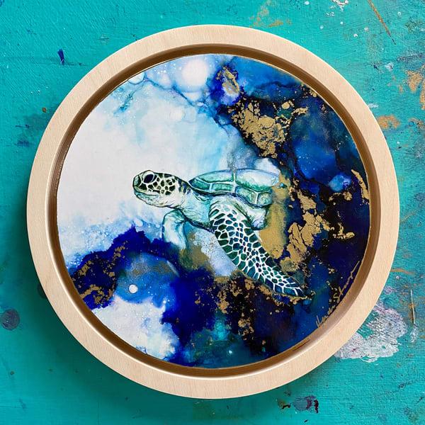 Swimming In The Deep Art | Heidi Stavinga Studio