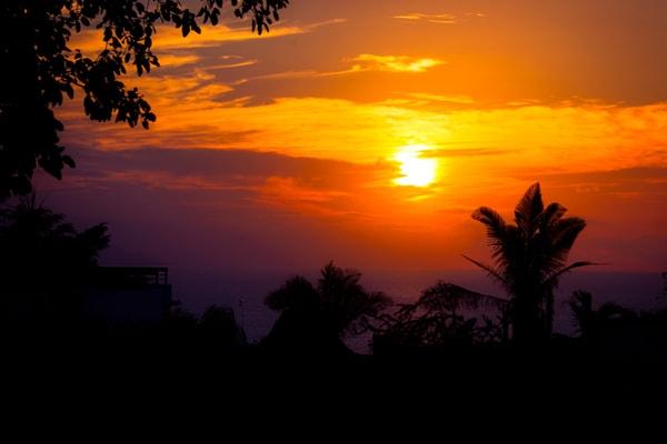 Puerto Vallarta Winter Sunset
