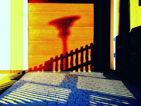 Rossoneri lamppost