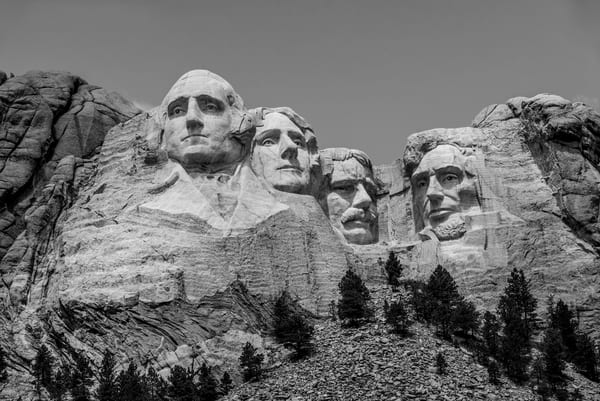 The Greats  Mt. Rushmore National Memorial Photography Art | Casey McFarland Photography