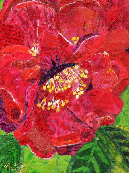 Karma Camellia  Art | Poppyfish Studio