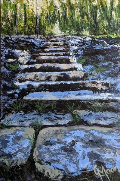 Steppin' Stones Art | Carol Moon Art