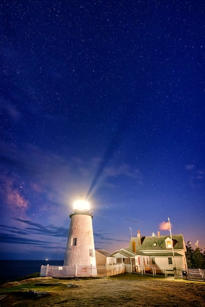 Pemaquid Twilight  Artist's Proof | Rick Berk Photography