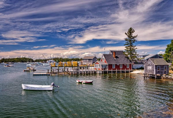 Summer Day On Vinalhaven   Artist's Proof | Rick Berk Photography