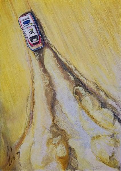 Porsche Dakar 1986 Art | Motorart 27