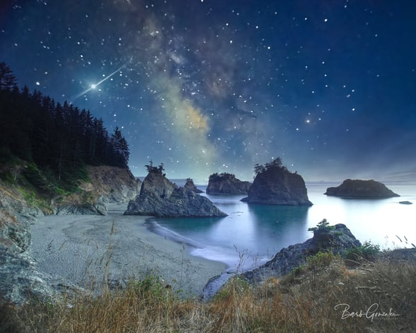 Boardman Milky Way Photography Art | Barb Gonzalez Photography
