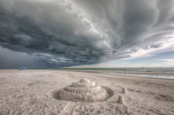 Sandcastles and Storms at Siesta Key