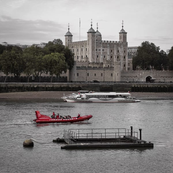 Power Past The Tower Art | Martin Geddes Photography