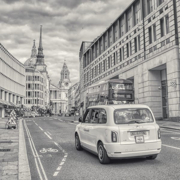 St Pauls By Bus And Taxi Art | Martin Geddes Photography