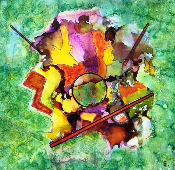 Love On The Forest Floor Art   Maitri Studio