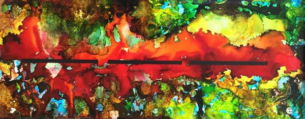 Reflections Of Love Ii Art   Maitri Studio