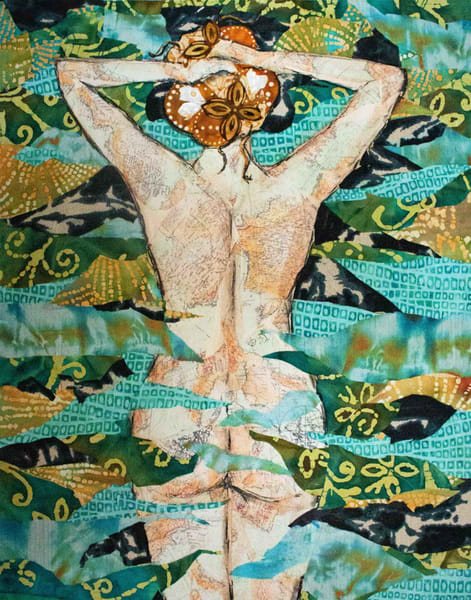 . Nude. water. Sharon Tesser. sultry. textile