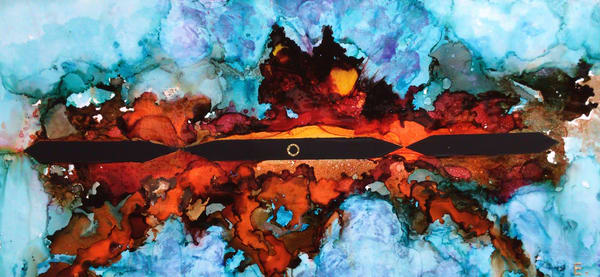 Reflections Of Love Iii Art | Maitri Studio